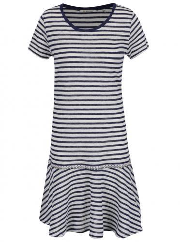 Modro-biele pruhované šaty Rich  amp  ... ae16caeb0d1