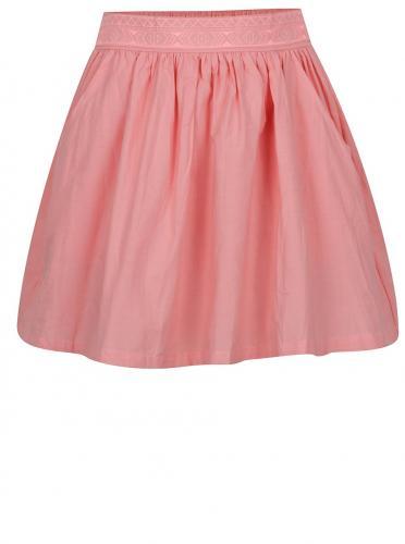 Ružová dievčenská sukňa s vreckami 5.10.15.