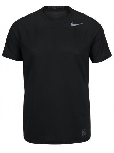 Čierne pánske funkčné tričko s logom Nike