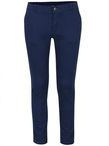 74b9f9ee7974 Modré chlapčenské slim chino nohavice 5.10.15.