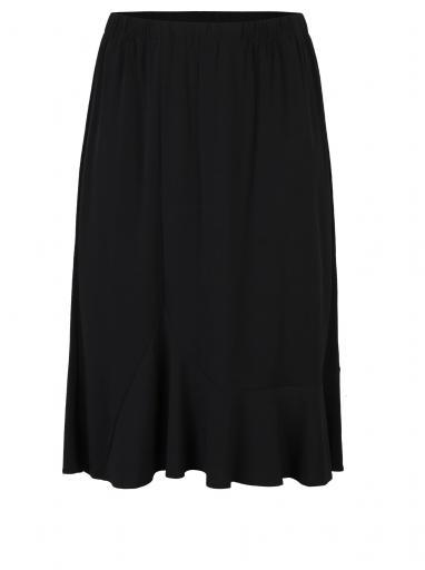 43799dcf0c53 Čierna áčková midi sukňa Ulla Popken