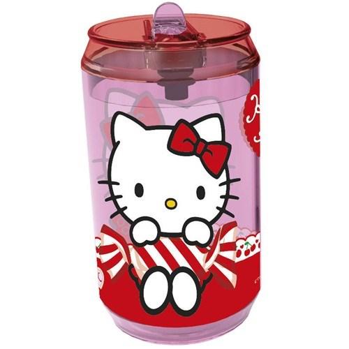 Banquet Hello Kitty Láhev s brčkem