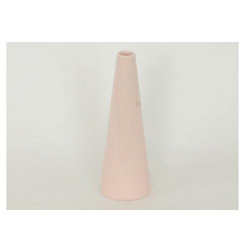 Autonic Keramická váza Pastel, růžová