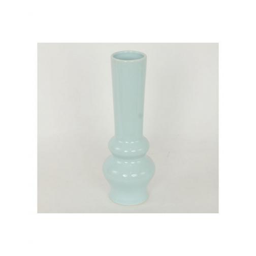 Autonic Keramická váza Peony, světle modrá