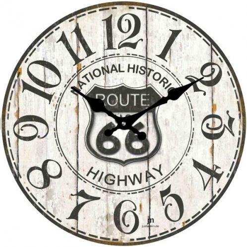 Lowell 14848 nástěnné hodiny