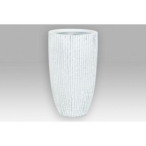 Autonic Polyresinová váza Stripe, modrá