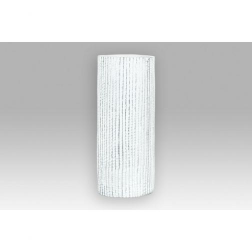 Autonic Polyresinová váza Stripe modrá, 35,5 cm