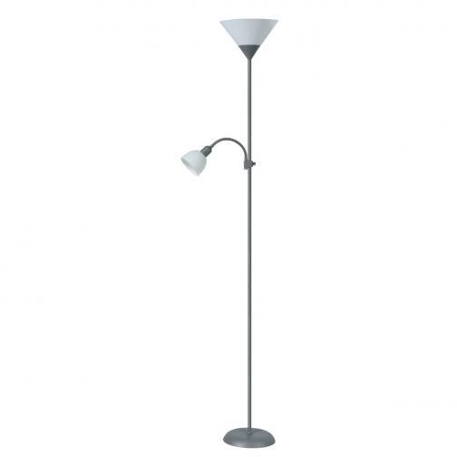 Rabalux 4028 Action stojací lampa, stříbrná