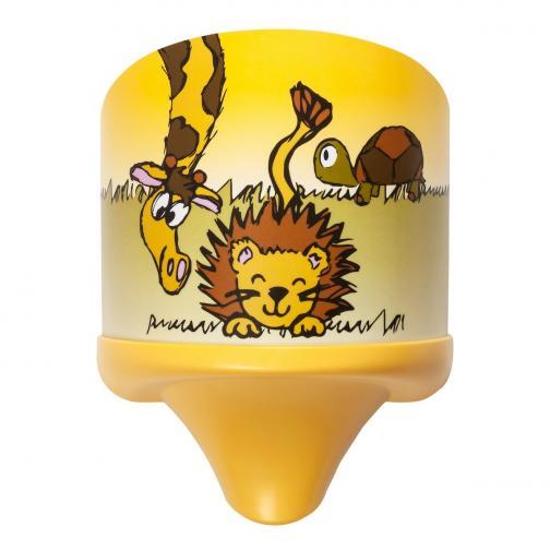 Rabalux 4571 Leon dětské nástěnné svítidlo, žlutá