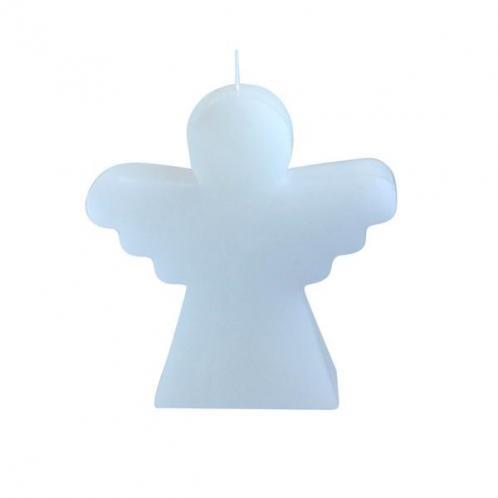 Svíčka bílá Anděl v. 15,2 cm