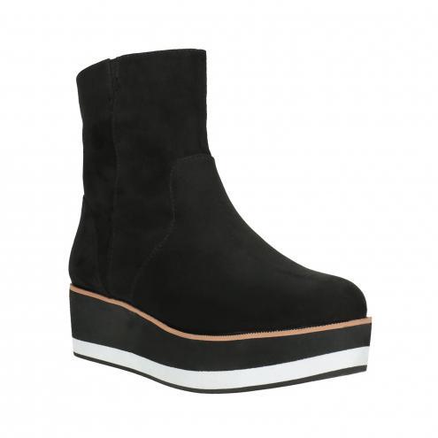 Kotníčková obuv na flatformě