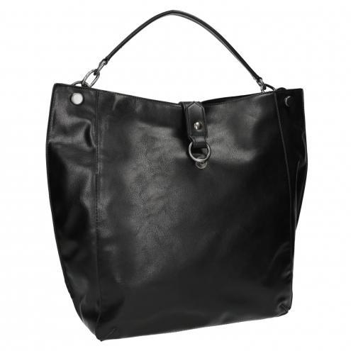Černá kabelka v Hobo stylu