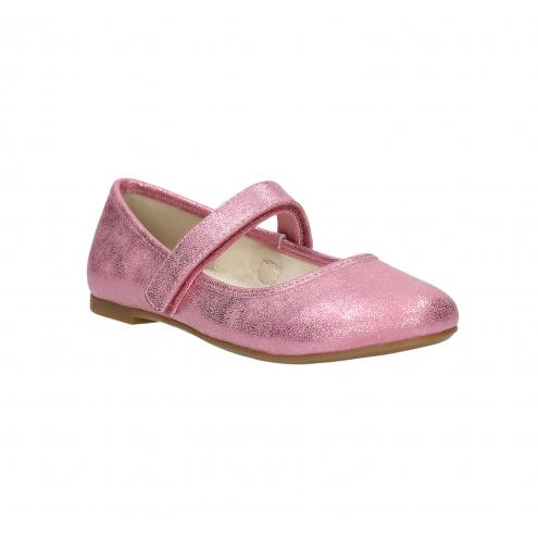 Růžové dětské baleríny
