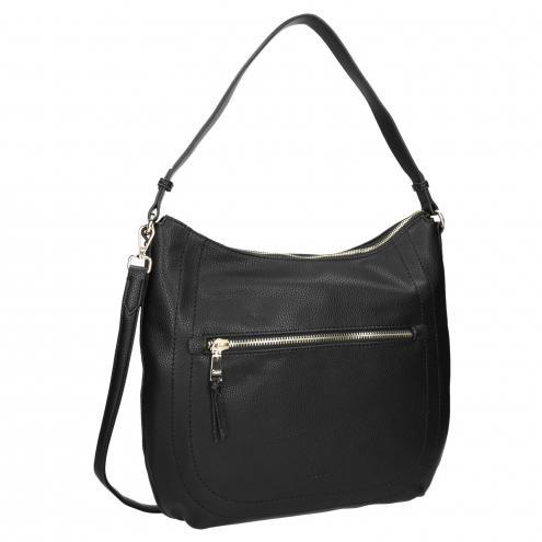 Černá dámská kabelka s popruhem