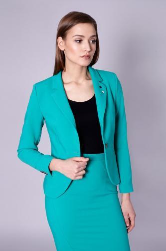 Click Fashion - Dámské sako Laren Green