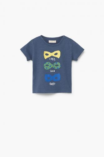 Mango Kids - Dětské tričko Crum 68-98 cm