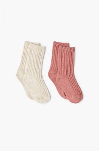 Mango Kids - Dětské ponožky (2-pack)