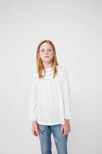 Mango Kids - Dětská košile Plumi 110-164 cm