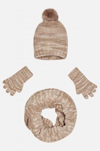 Mayoral - Čepice + rukavice, dětský tunel