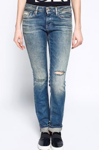 Calvin Klein Jeans - Džíny Mid Rise Slim