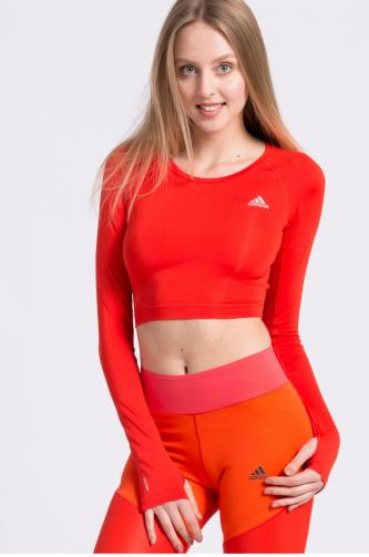 adidas Performance - Halenka Crop Top Corred