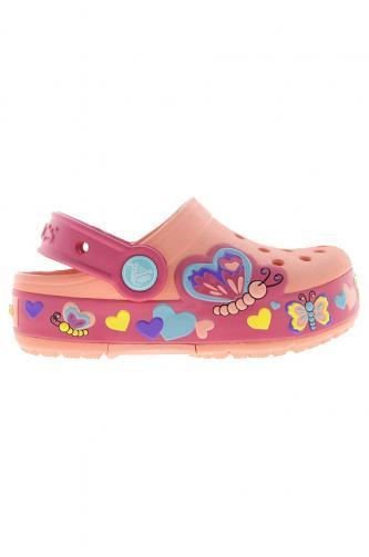 Crocs - Dětské pantofle Butterfly
