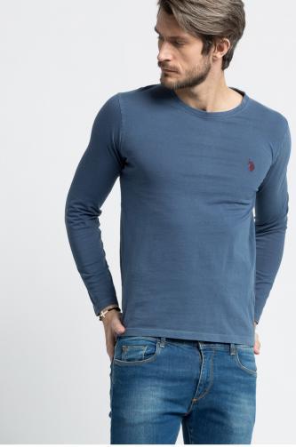 U.S. Polo - Tričko s dlouhým rukávem