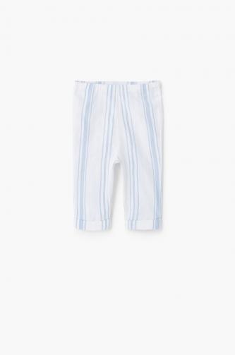 Mango Kids - Dětské kalhoty Madison 62-80 cm