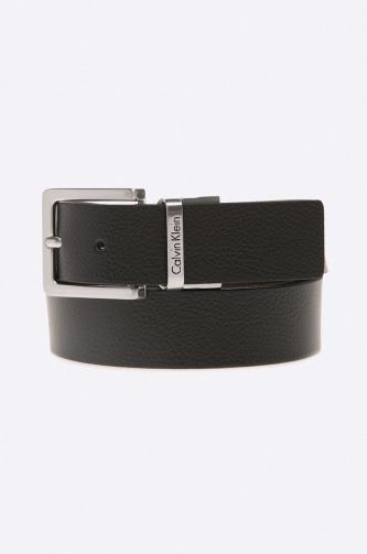 Calvin Klein Jeans - Dvoustranný kožený pásek