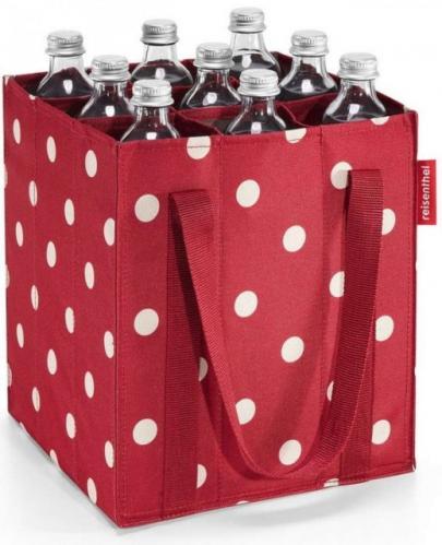 Nákupní taška na lahve Reisenthel Bottlebag Ruby dots