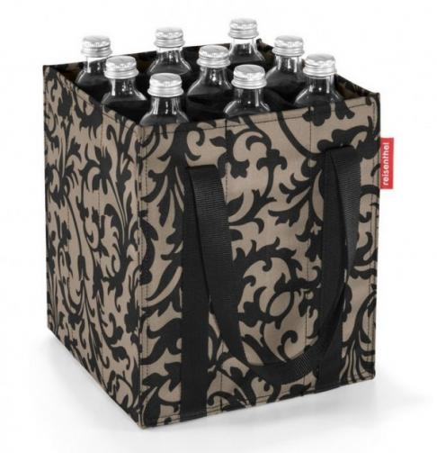 Nákupní taška na lahve Reisenthel Bottlebag Baroque taupe