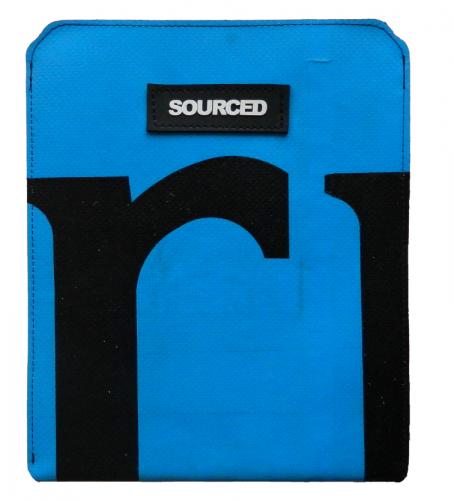 Obal na iPad Sourced Barva: modrá