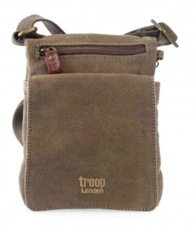 Brašna Troop London TRP0243 Barva: hnědá