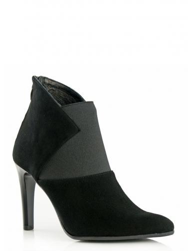 Bosccolo Kotníkové boty 3640_black suede