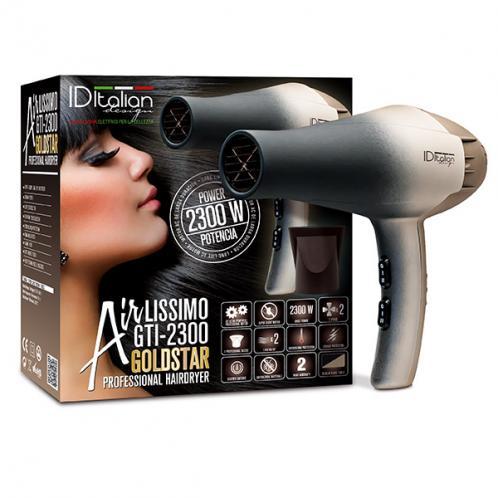 ITALIAN DESIGN Vysoušeč na vlasy IDEGTI2300AIRGOLD