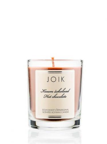 JOIK Vonná svíčka ve skle - Horká čokoláda 016