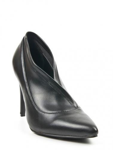 Alex SIlva Dámská obuv na podpatku 414402 NEGRO