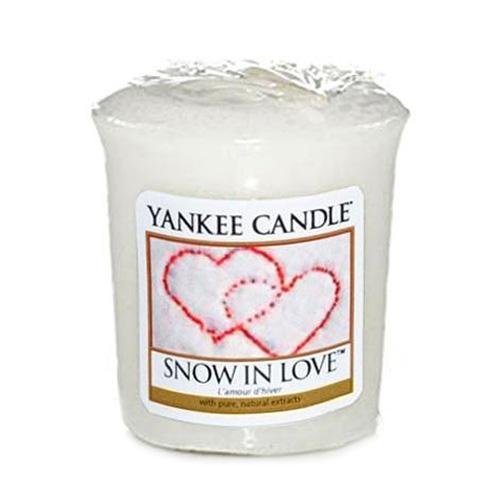 Yankee candle Svíčka Yankee Candle -Zamilovaný sníh 170031