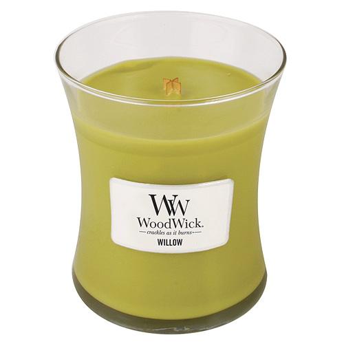 WoodWick Svíčka oválná váza WoodWick Vrbové květy 591668