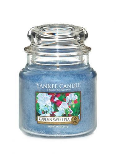 Yankee candle Svíčka ve skleněné dóze - Květy ze zahrádky 170005