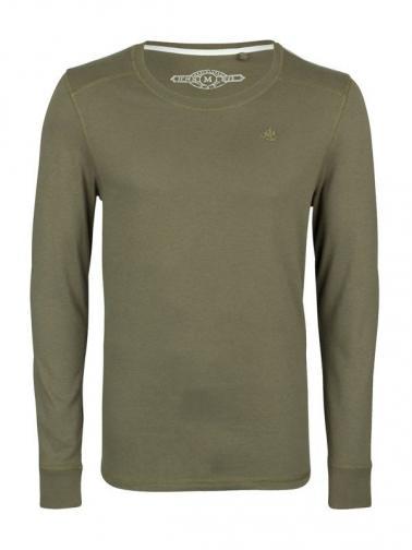 DreiMaster Pánské tričko 56707145_oliv