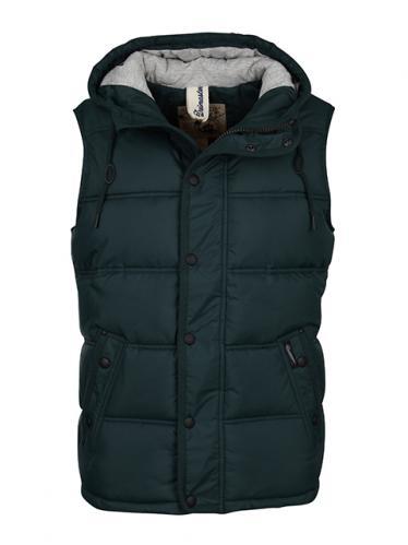 DreiMaster Pánská zimní vesta 56136044_tannengrün