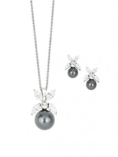 Art de France Set náhrdelníku a náušnic ST3872-BK