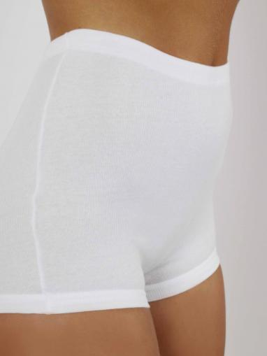AB Tricot Dámské kalhotky RDM 005 S SHORTY WHITE SET OF 2 (2 kusy)