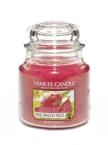 Yankee candle Svíčka ve skleněné dóze - Růžový Dračí plod 169661