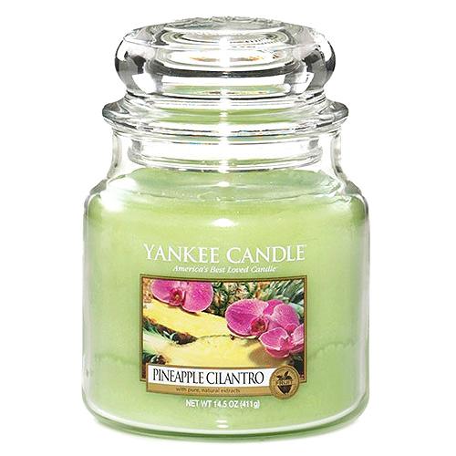 Yankee candle Svíčka ve skleněné dóze Yankee Candle -Ananas s koriandrem 169675