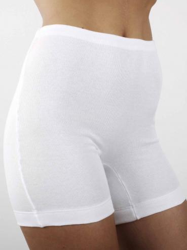 AB Tricot Dámské kalhotky RDM 006 S SHORTY WHITE SET OF 2 (2 kusy)