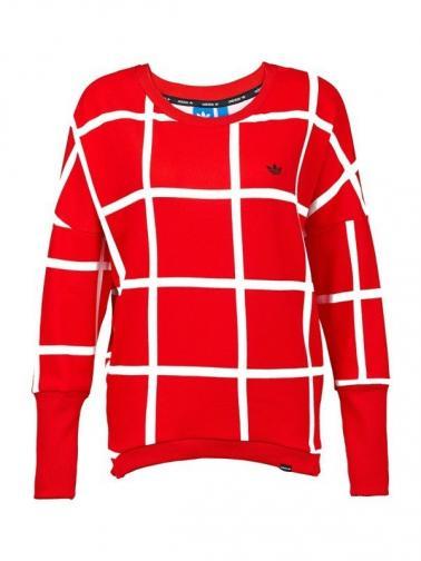 adidas Dámská mikina ADIDAS ORIGINALS MT CREW NECK M69595 _red, white