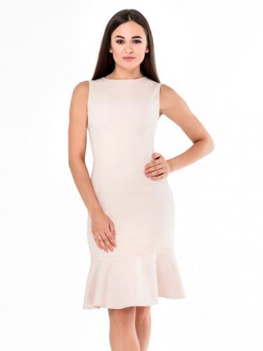 Juliet Roses Dámské šaty D_22_474_beige