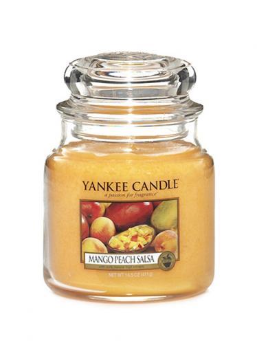 Yankee candle Svíčka ve skleněné dóze - Salza z manga a broskví 169644